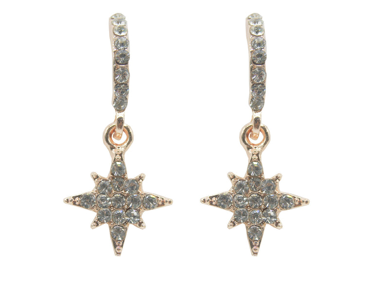Star Earring Rose Gold