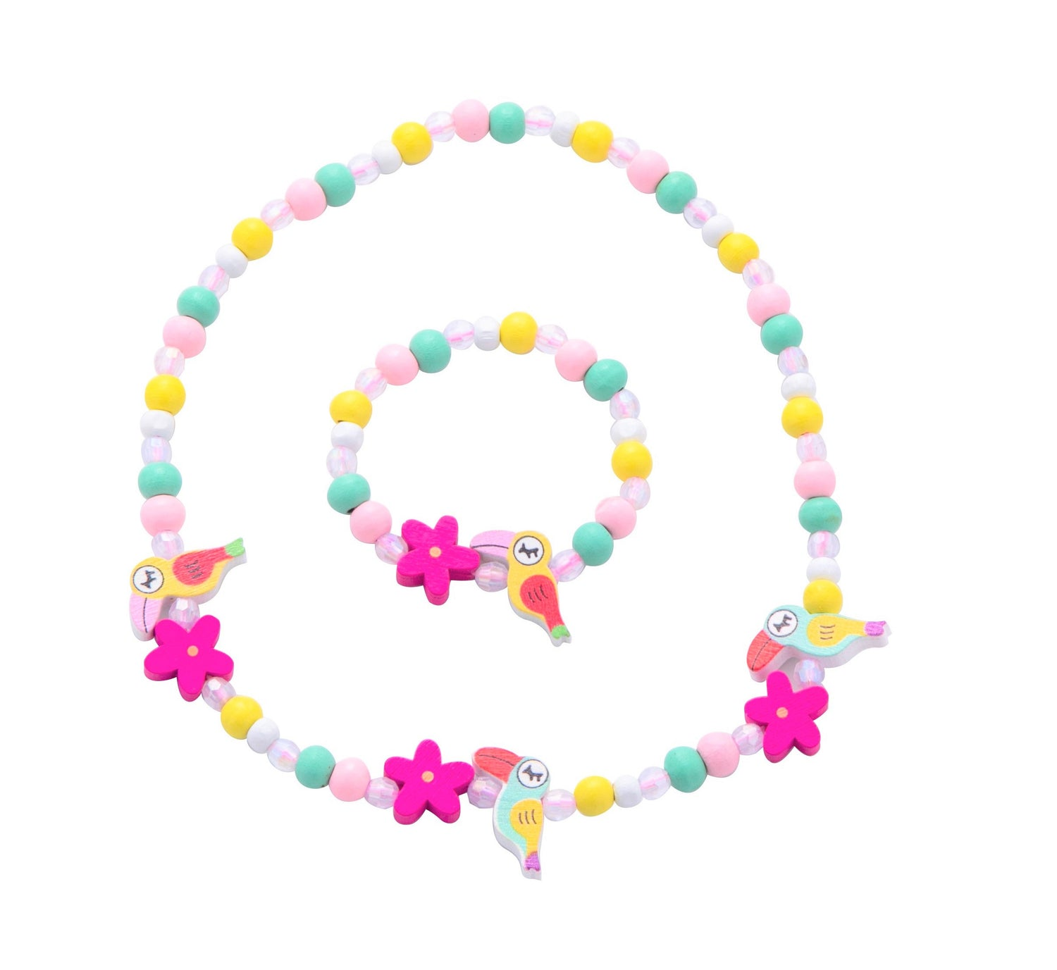 Sparkle Tucan Necklace Set