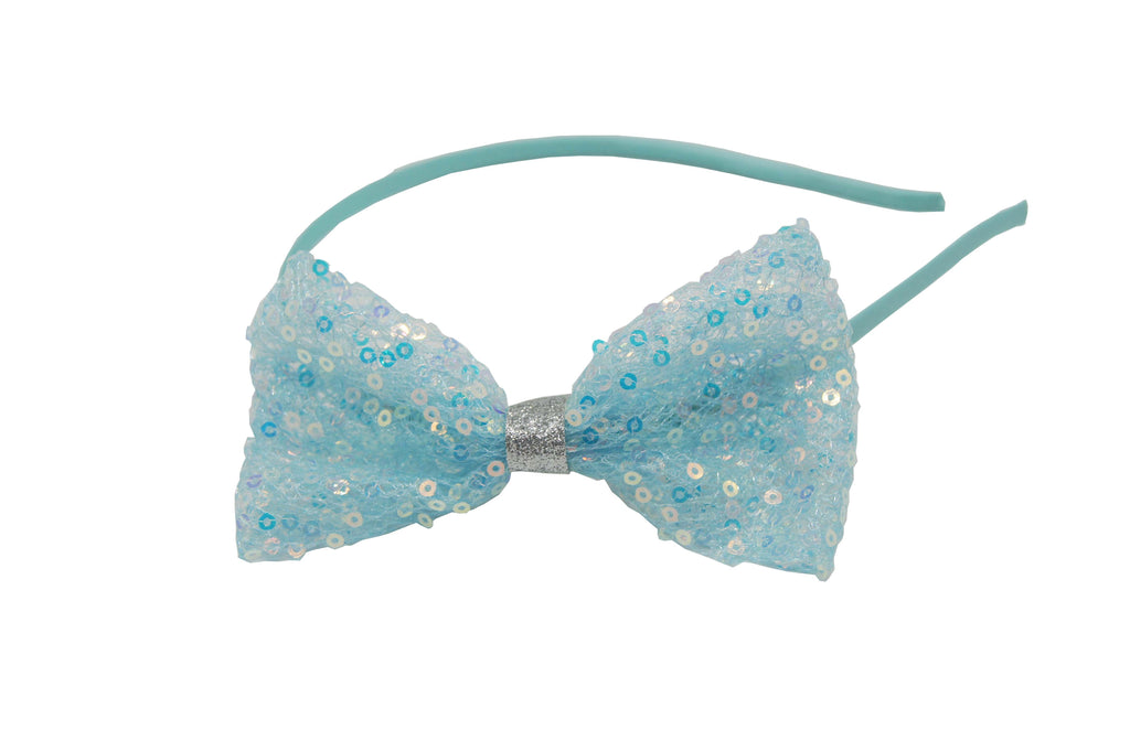 Sparkle Sequin Bow Hairband