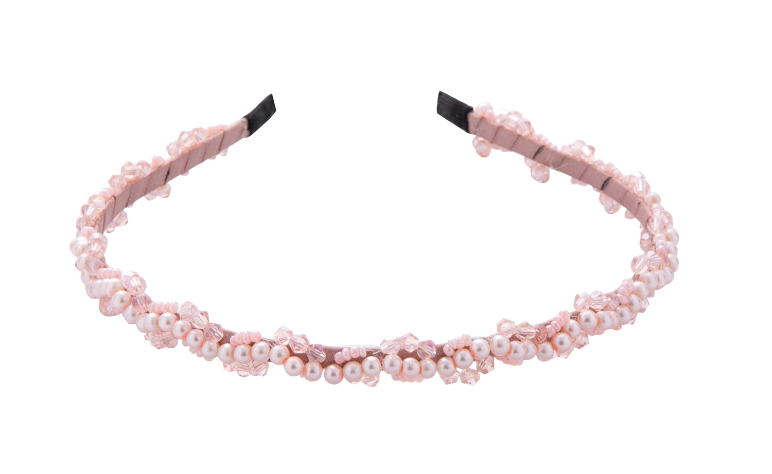 Pulse Professional Pearl & Bead Hairband Pink