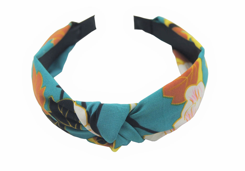 Pulse Professional Floral Hairband Green