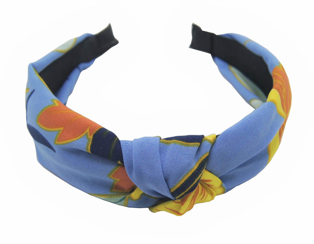 Pulse Professional Floral Hairband Blue