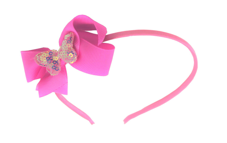 Sparkle Butterfly Hairband
