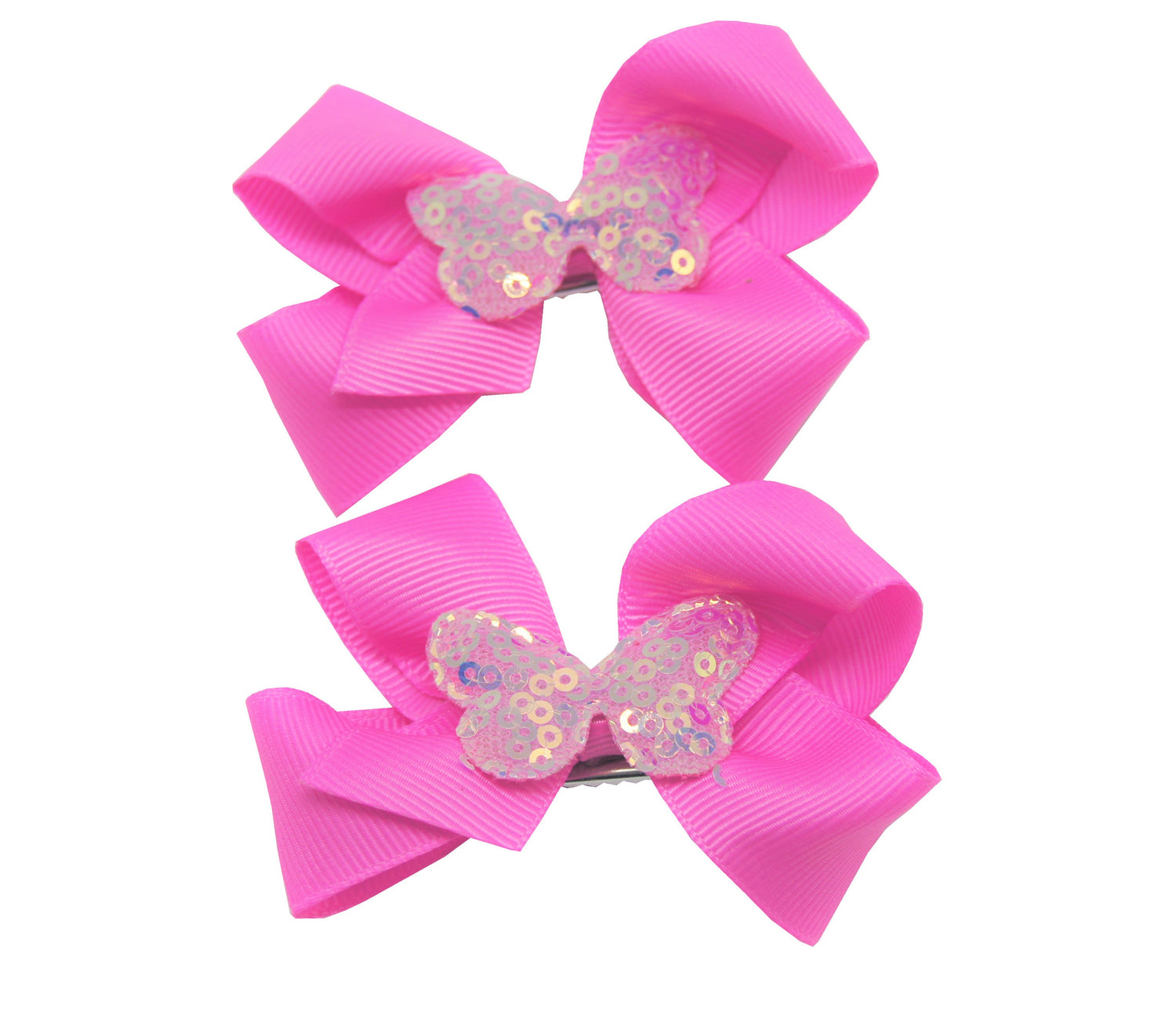 Sparkle 2pk Butterfly Bow Croc