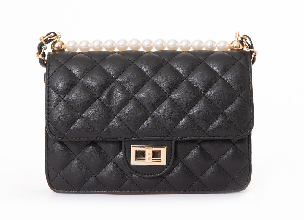 Pulse Accessories Quilted Handbag Black
