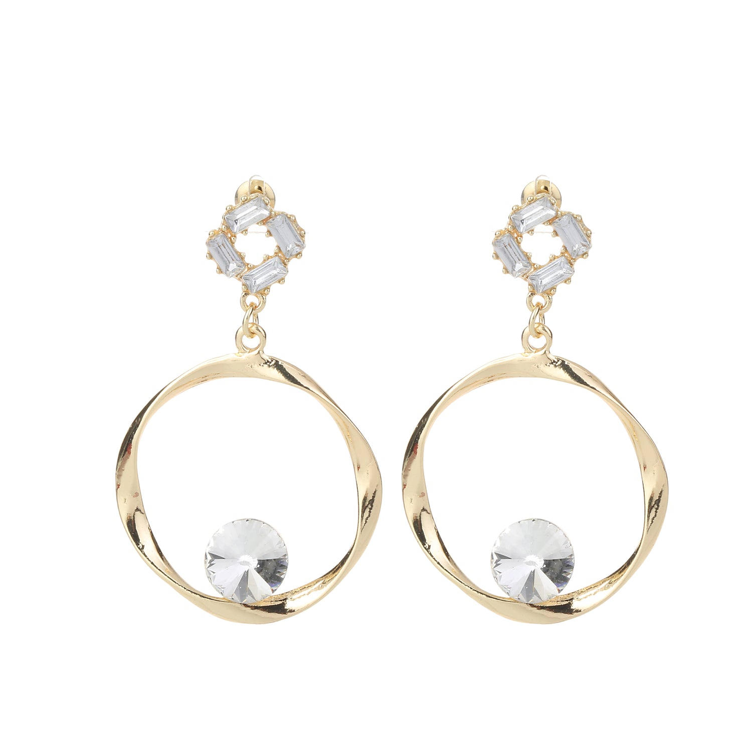 Round Earring Gold