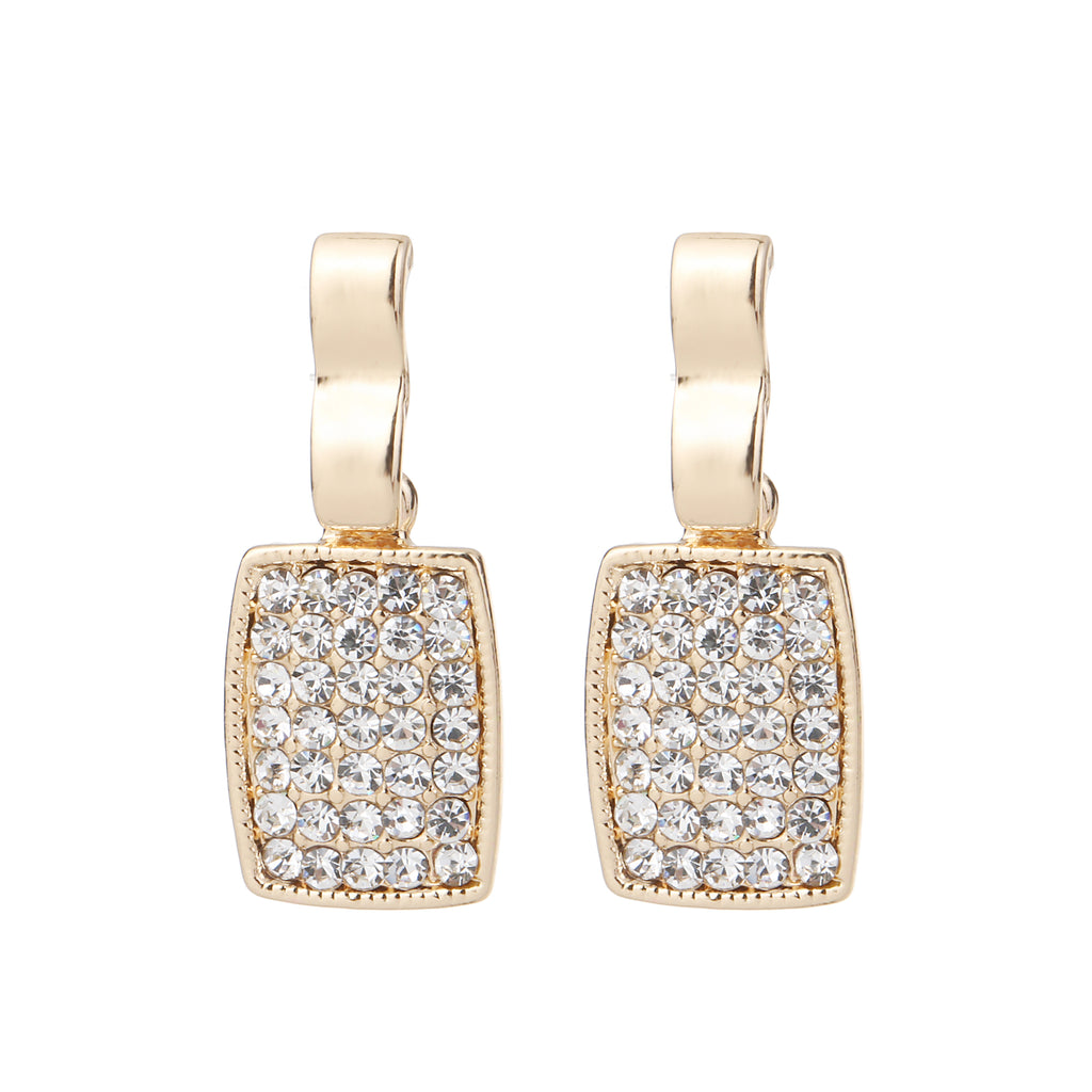 Diamante Earring Gold