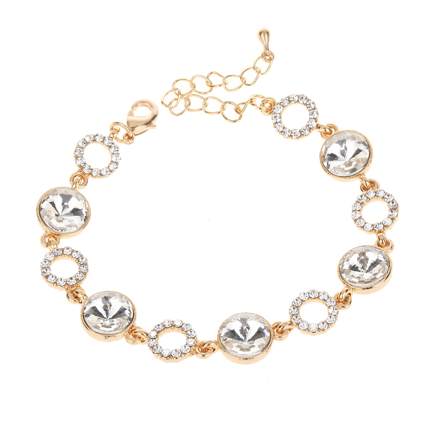 Crystal Bracelet Gold
