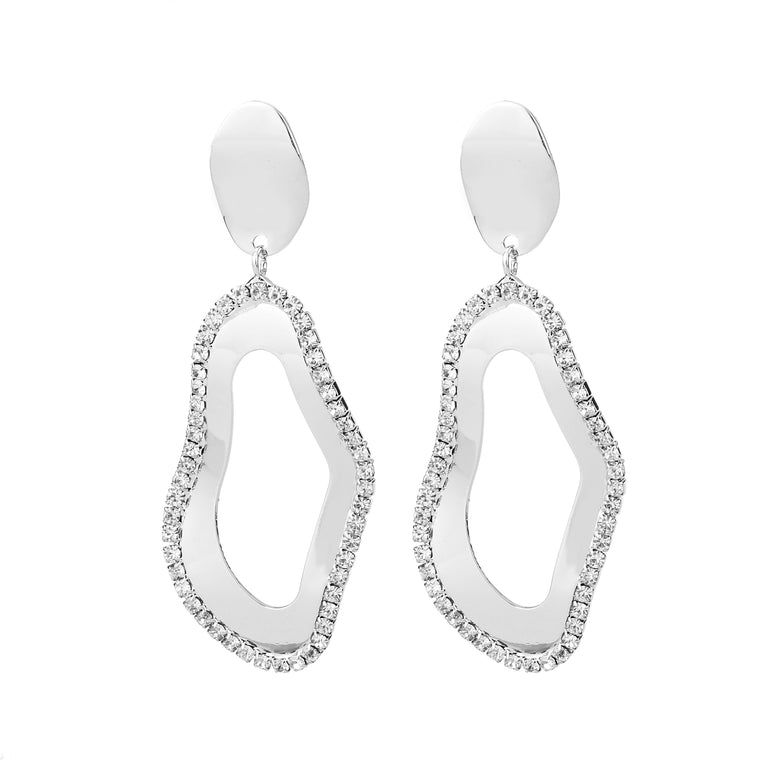 Drop Earring Silver