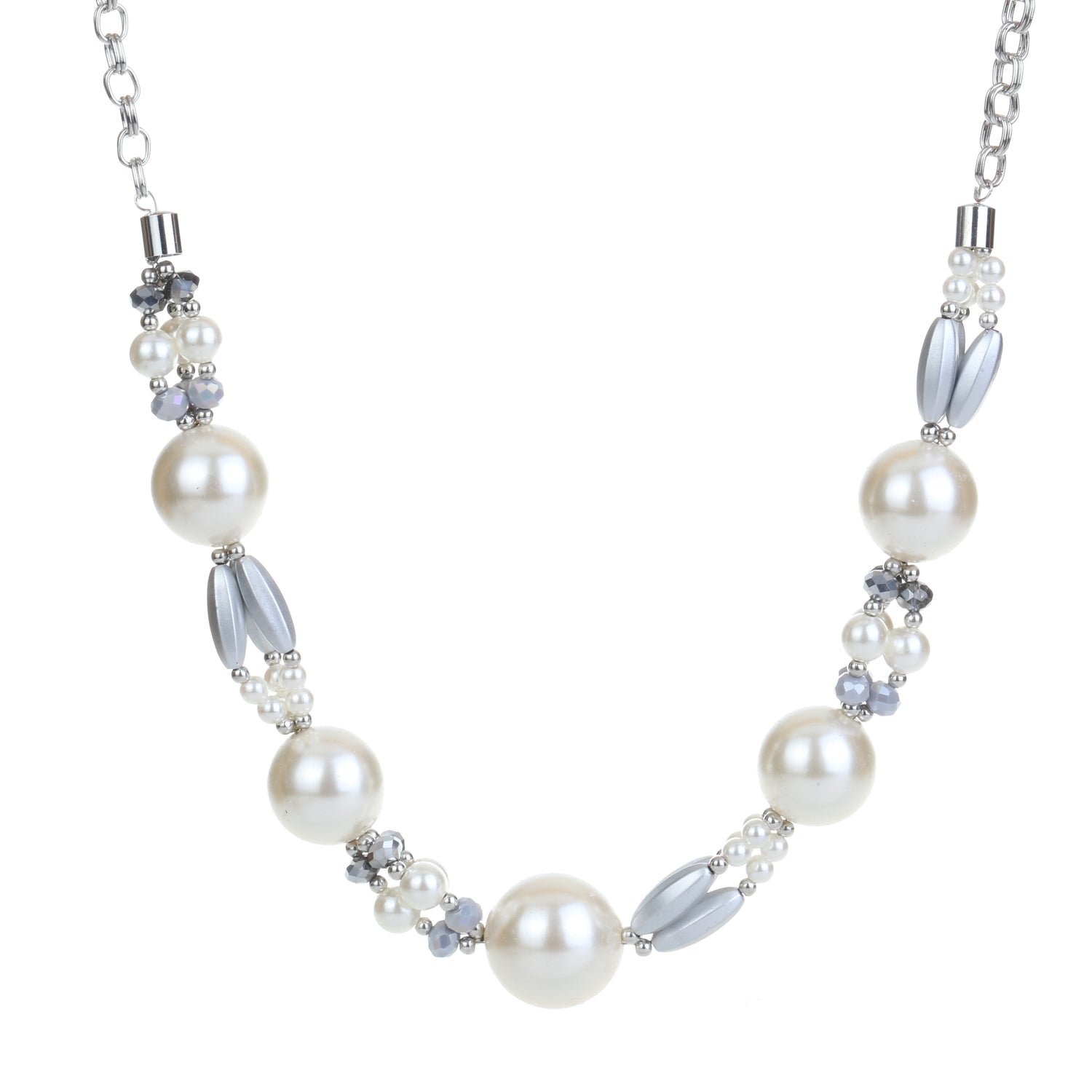Statement Pearl Detail Necklace
