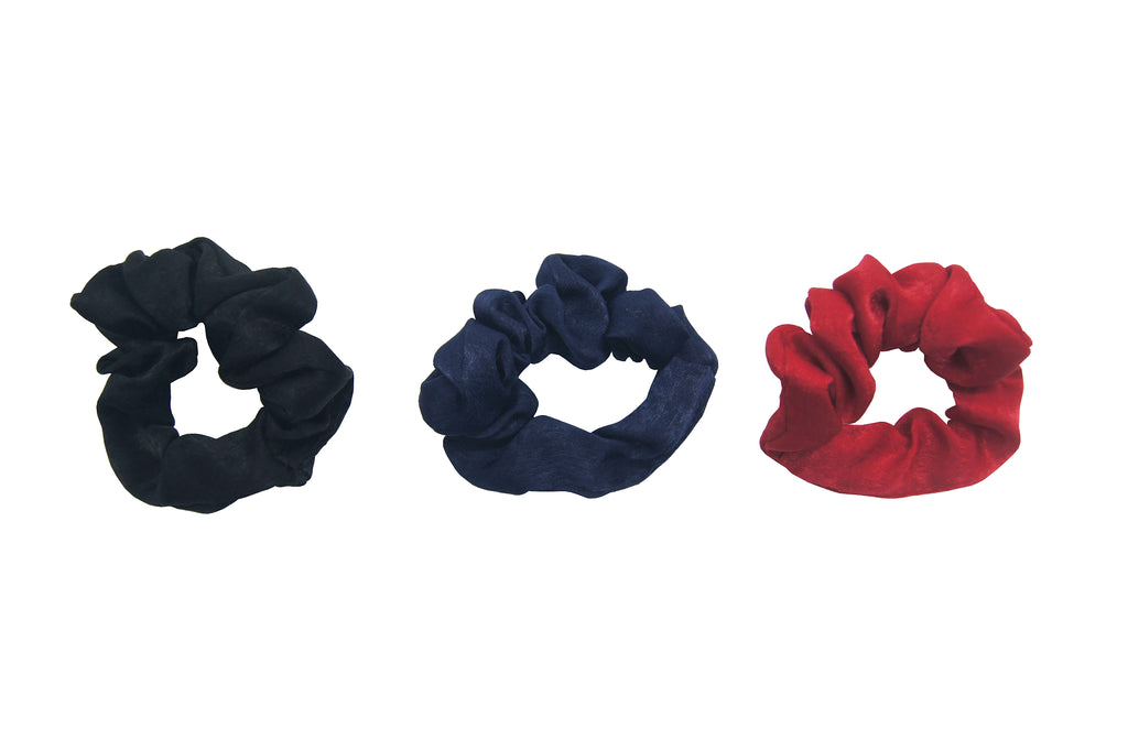 Pulse Professional 3pk Satin Scrunchy
