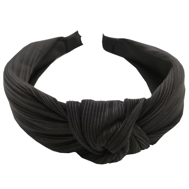 Pulse Professional Knot Top Hairband Black