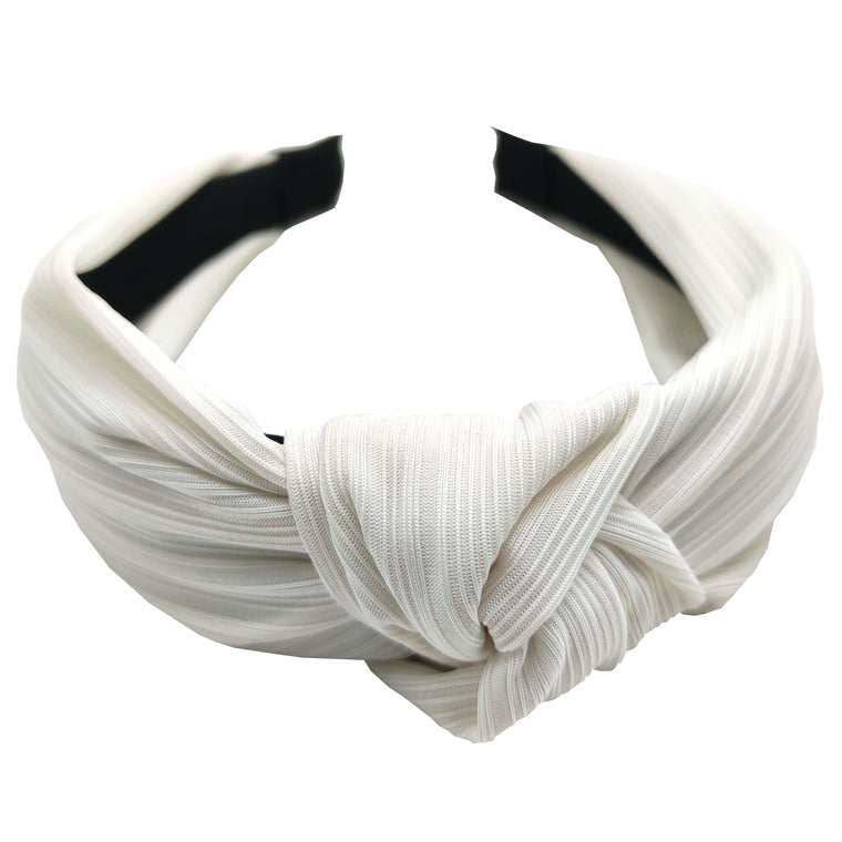 Pulse Professional Knot Top Hairband White