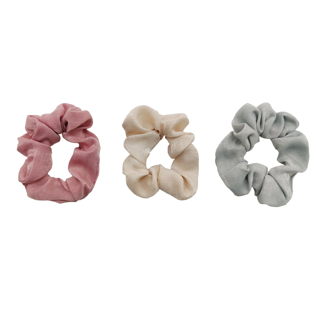 Pulse Professional 3pk Slim Scrunchie Set
