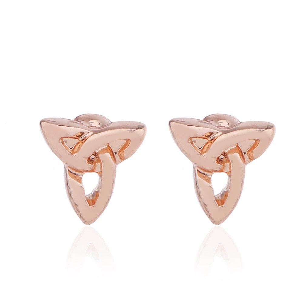 Delicate Ears Celtic Earring Rose Gold Plating