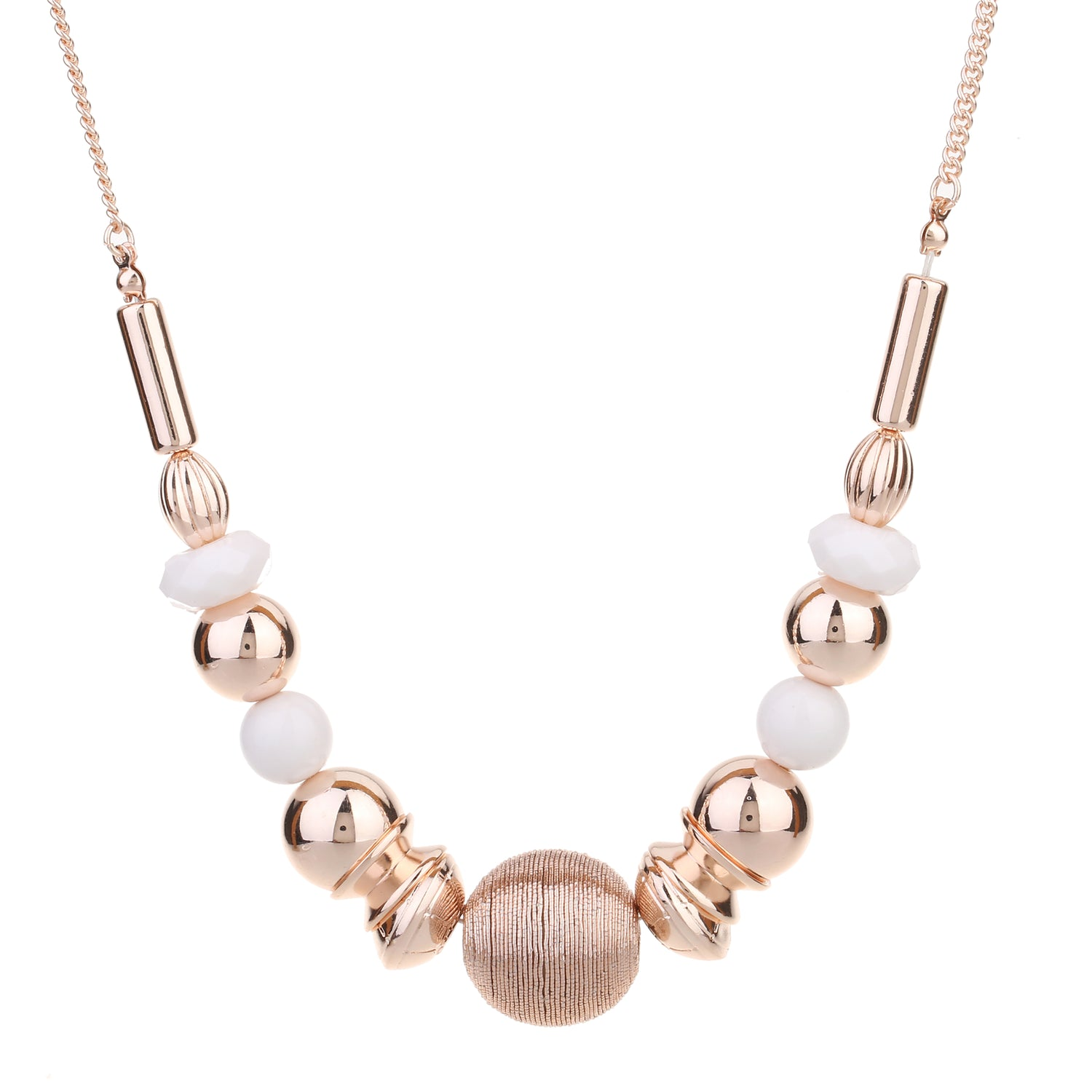 Ball necklace rose gold