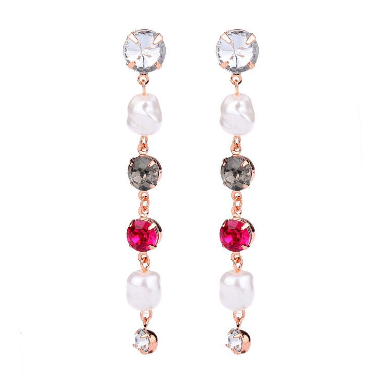 Pearl & Colour Earring