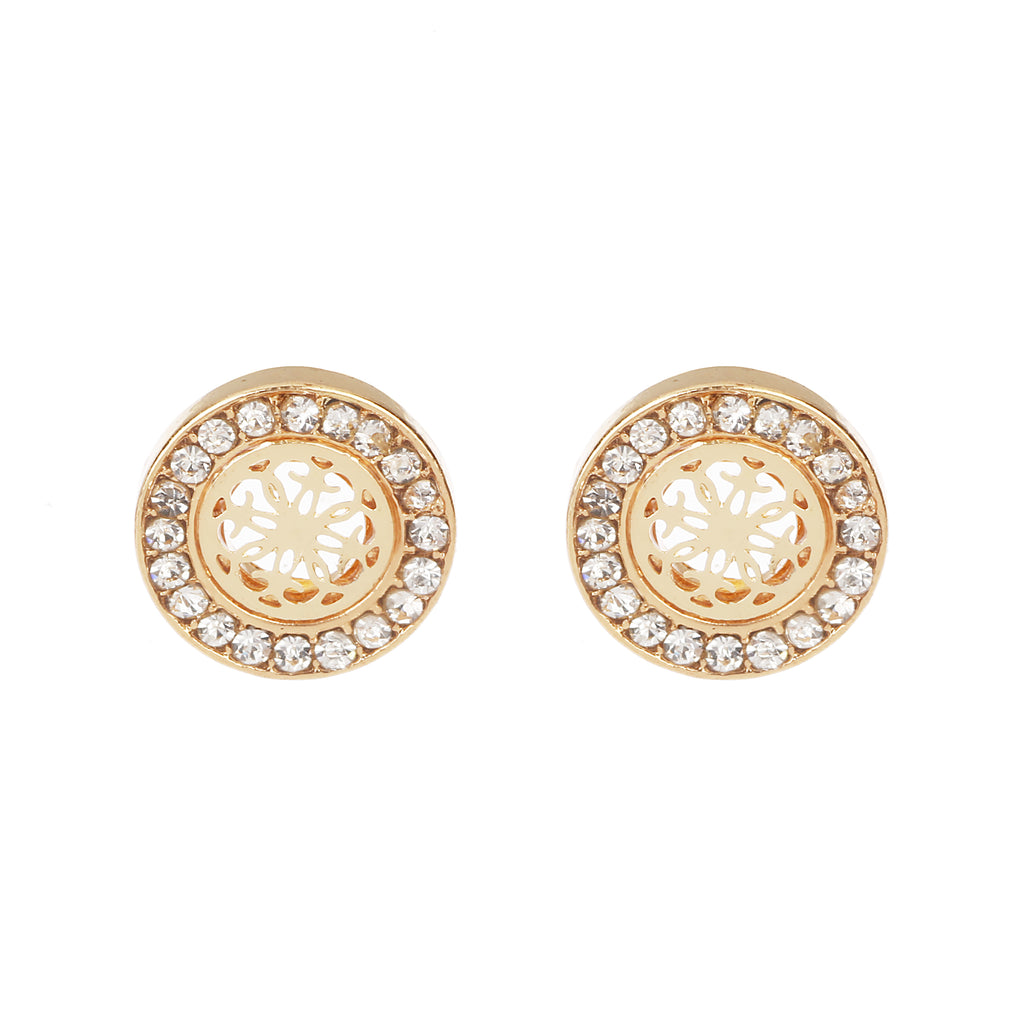 Delicate Ears Ornate Earring Light Gold