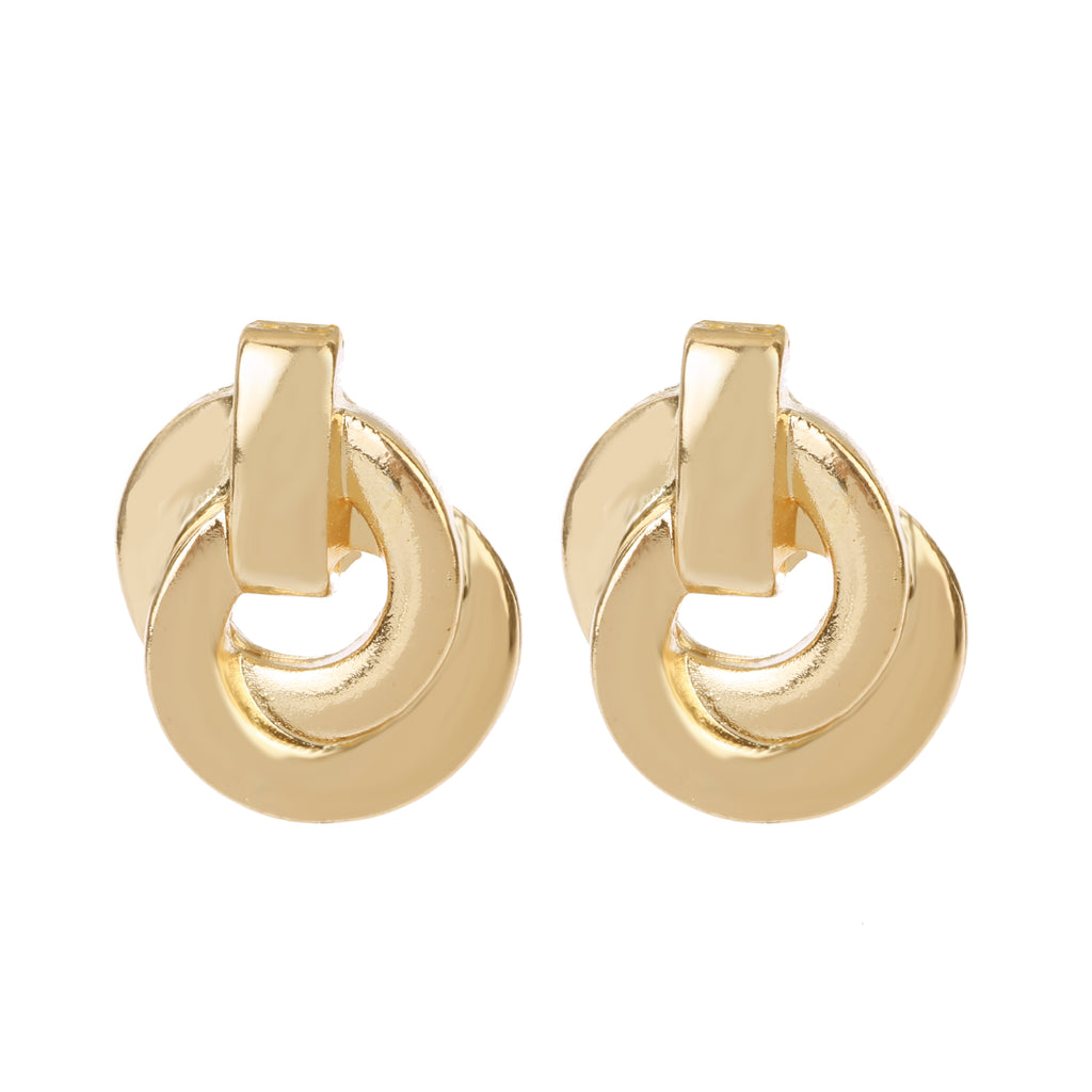 Delicate Ears Linked Earring Light Gold