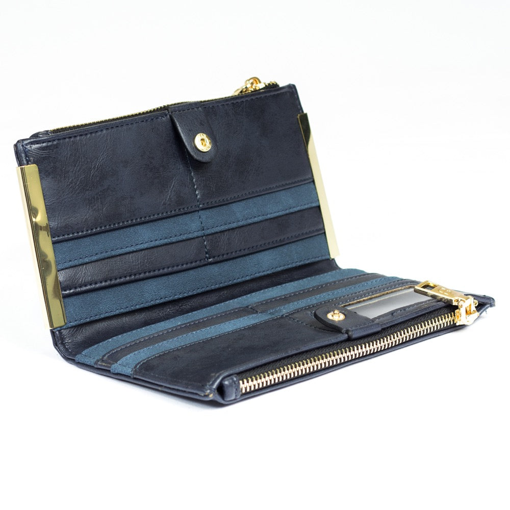 Serendipity Leah Purse Navy