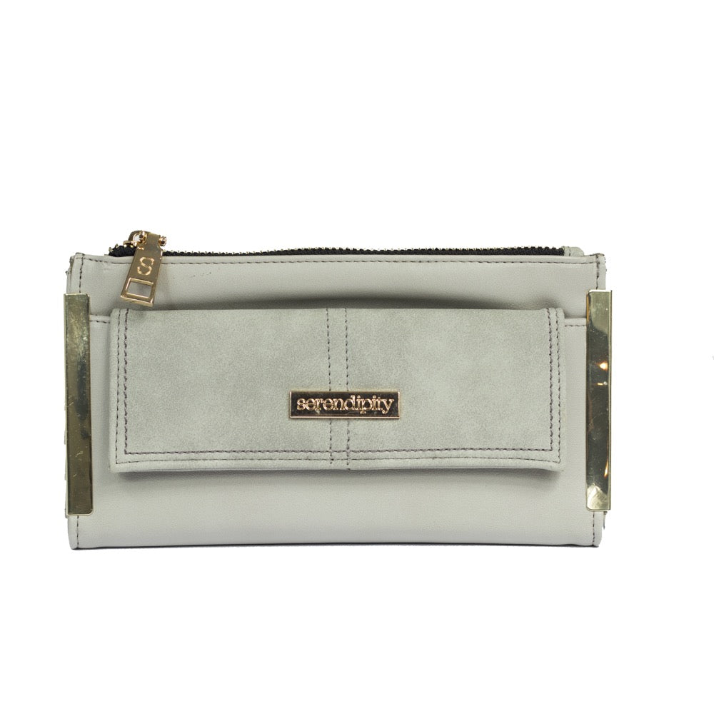 Serendipity Leah Purse Grey