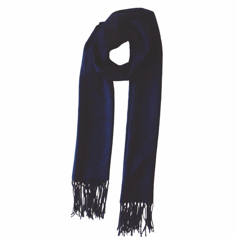 Classic scarf navy