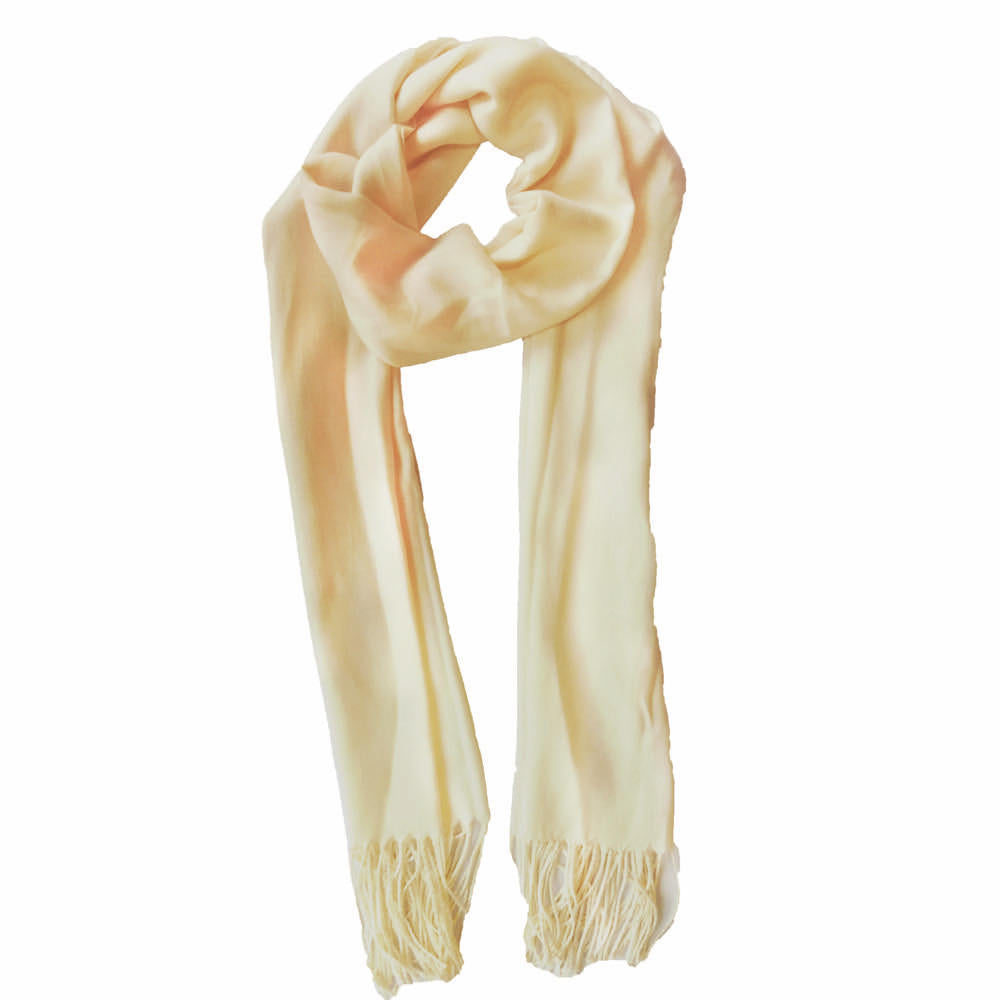 Classic scarf ivory