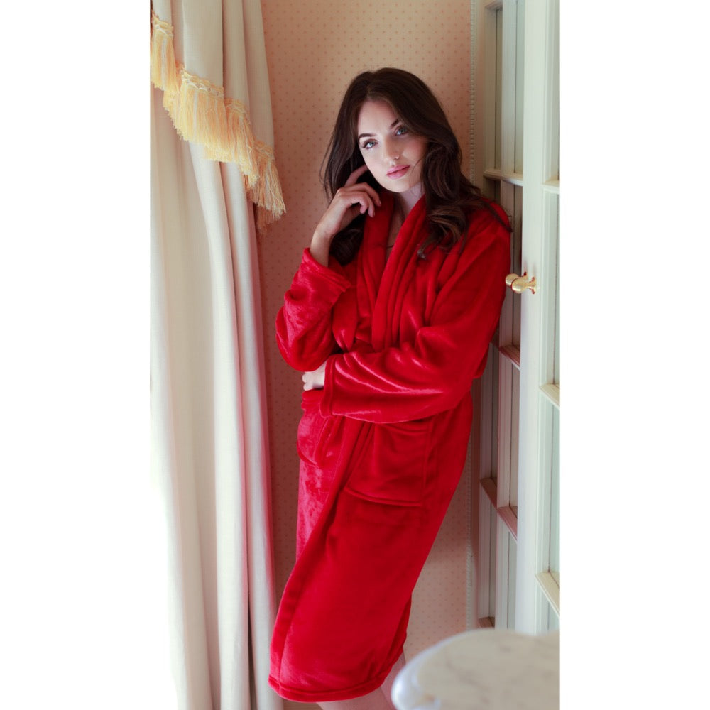 Pulse Gift Box Dressing Gown Red M/L