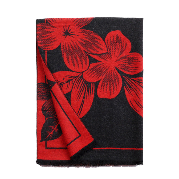 Serendipity Scarf Black & Red
