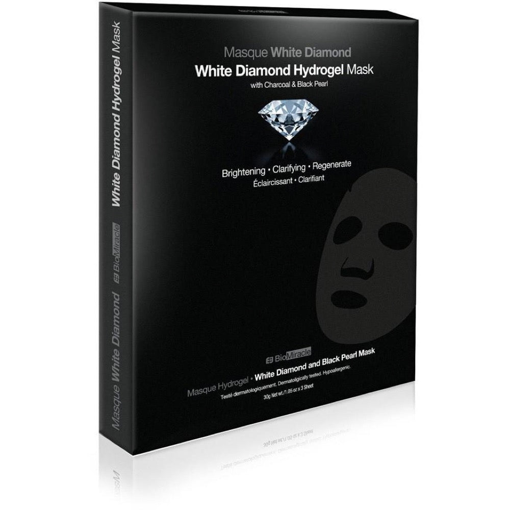 BioMiracle Jewel Series White Diamond Hydrogel Mask Single Pack