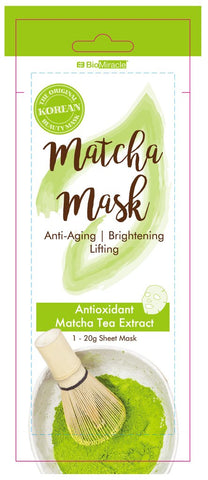 BioMiracle Slim Matcha Mask - Single