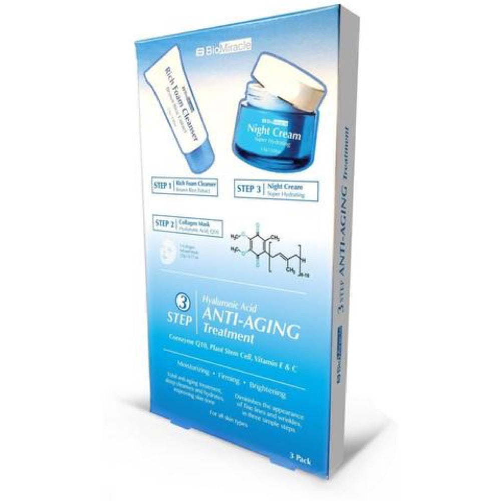 BioMiracle 3 Step Anti-Aging Treatment - Single Pack