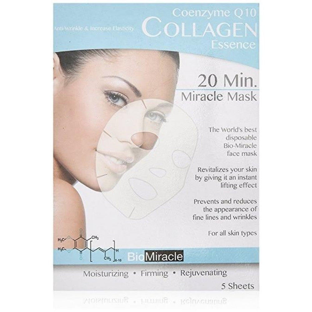 BioMiracle Anti-Aging & Moisturizing Face Mask - Coenzyme Q10