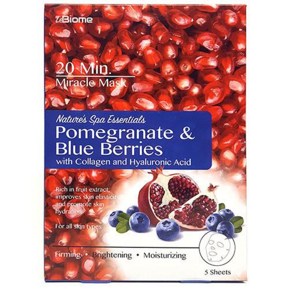 LeBiome Pomegranate & Blueberry Face Mask Single Pack