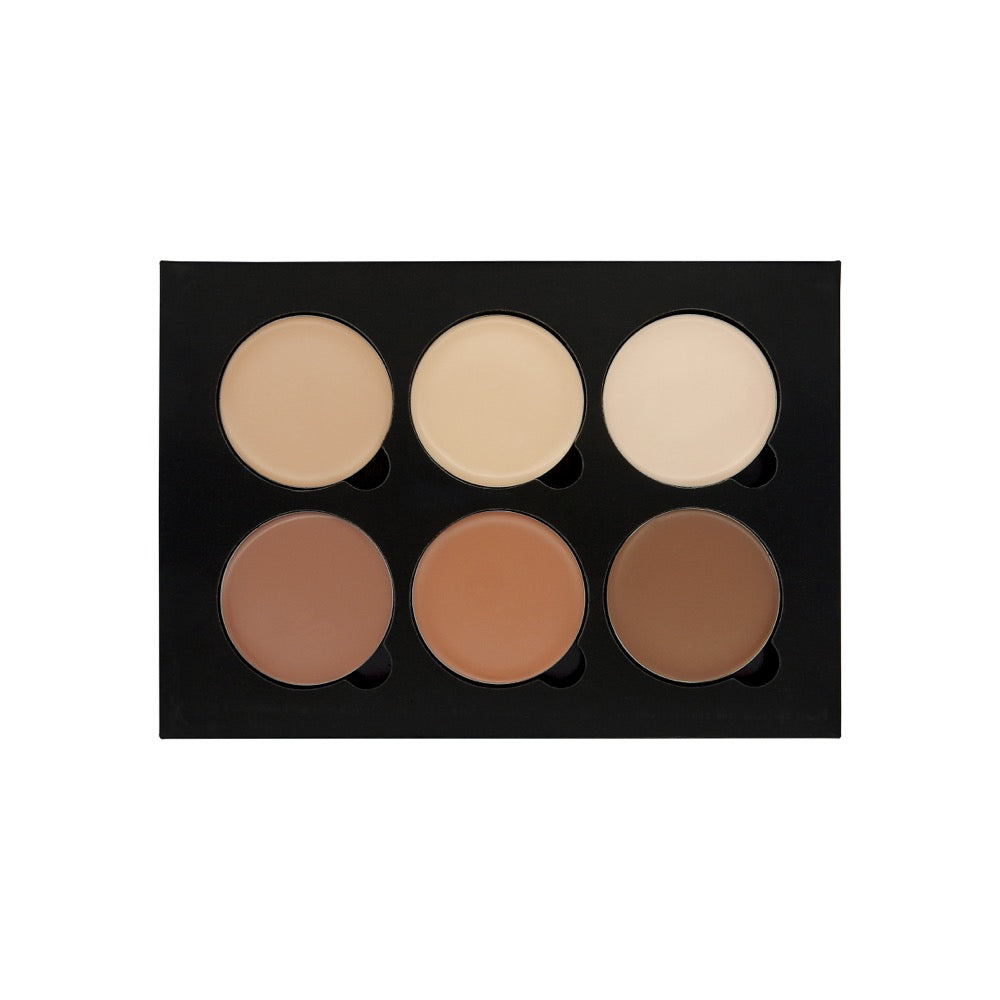 W7-Lift & Sculpt - Face Shaping Contour Palette