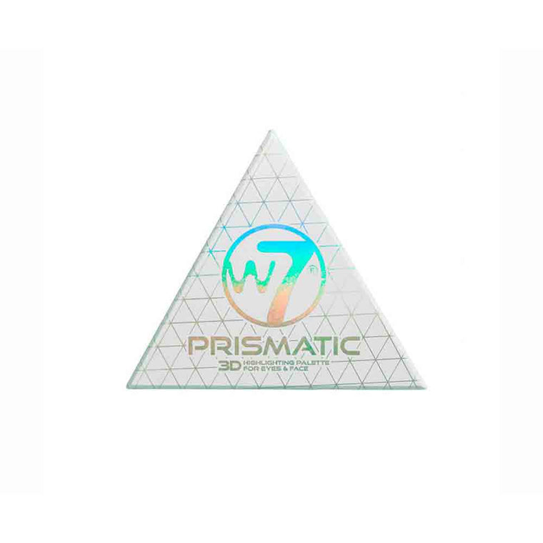 W7-3D Prismatic Palette - Eyes & Face Highlighter