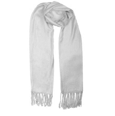 Classic scarf silver