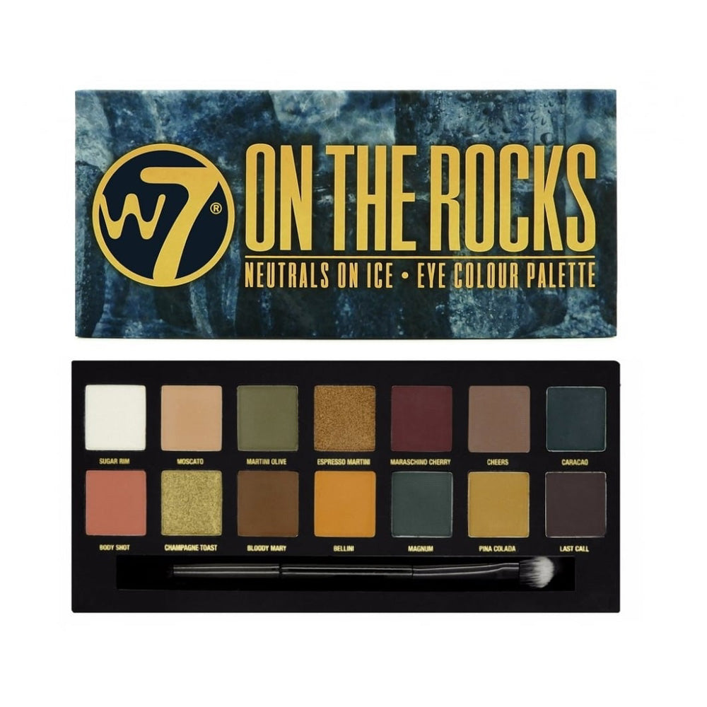 W7-On The Rocks Palette