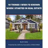 10 Things I Wish I'd Known When I Started In Real Estate