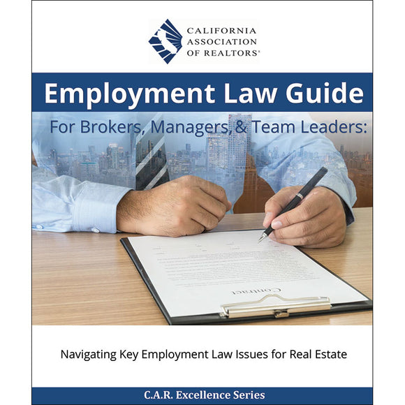 Employment Law Guide for Brokers, Managers, & Team Leaders - Now With Digital Download
