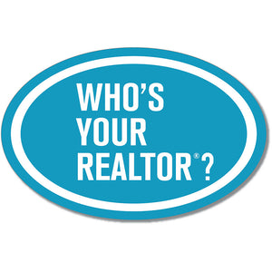Who's Your REALTOR® - Car Magnet