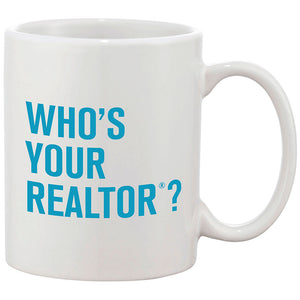 Who's Your REALTOR® - 11 oz. Ceramic Coffee Mug