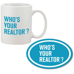 Coffee Mug & Car Magnet Combo: Who's Your REALTOR®