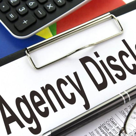Using the Agency Disclosure Form - ONLINE ANYTIME