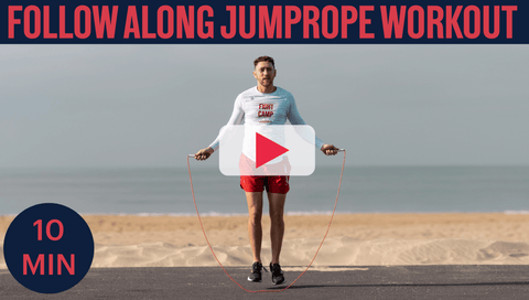 10 Minute Jump Rope   Beginner Travel Workout