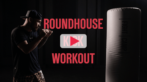 10 Minute Roundhouse Kick Workout With Aaron Swenson