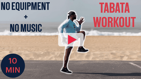 10 Minute Travel Tabata Workout Boxing Cardio Fitness
