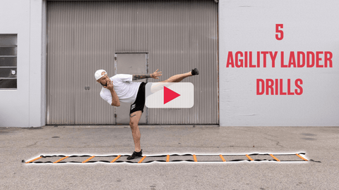 Aaron Swenson's 5 Agility Ladder Drills Video for Boxing & Kickboxing Footwork