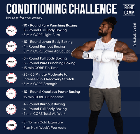 7-Day Conditioning Challenge Workout Program