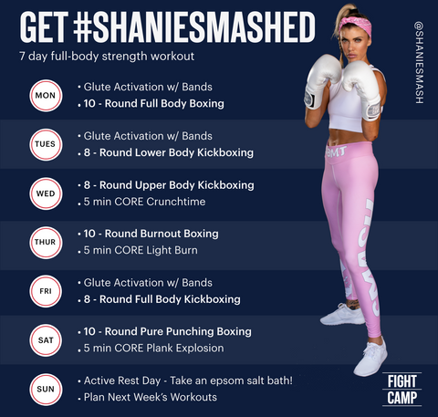 7 Day Full-Body Strength Workout w/ Shanie